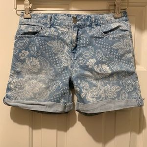 GAP Kids girl's denim shorts, size 14